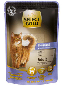 SELECT GOLD Sterilised alutasakos lazac 85g