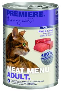 Premiere Meat Menu cicakonzerv marha+bárány 400g