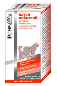 Pet Balance gyógynövényolaj kutyáknak, macskáknak 100ml