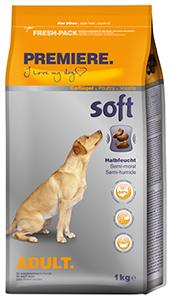 PREMIERE Soft Adult szárazeledel kutyáknak csirke 1kg