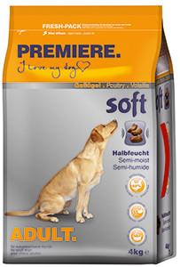 PREMIERE Soft Adult szárazeledel kutyáknak csirke 4kg