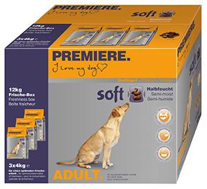 PREMIERE Soft Junior szárazeledel kutyáknak csirke 3x4kg