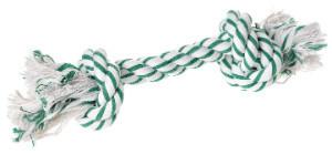AniOne kutyajáték kötél mentolos 2 csomóval M 26cm