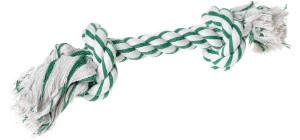 AniOne kutyajáték kötél mentolos 2 csomóval L 37cm