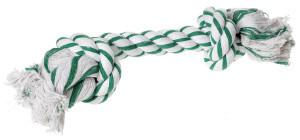 AniOne kutyajáték kötél mentolos 2 csomóval XL 45cm