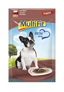 MultiFit Pouch Ragout kutyáknak marha+BBQ 100g