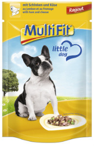 MultiFit Pouch Ragout kutyáknak sonka+sajt 100g