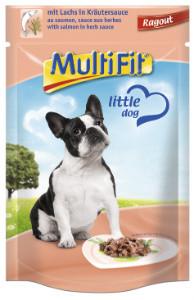 MultiFit Pouch Ragout kutyáknak lazac 100g
