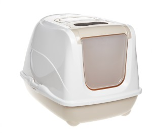AniOne cica wc Flip cat bézs M 50x38x37cm