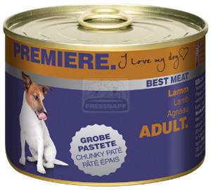 PREMIERE Best Meat kutyakonzerv bárány 185g
