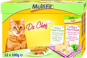 MultiFit Multipack tasakos cicaeledel tojászselében 12x100g