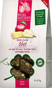 Real Nature Snack kisállatoknak gyümölccsel 60g