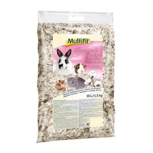 MultiFit kisemlős alom gyapot 15l