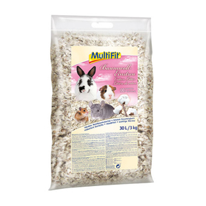 MultiFit kisemlős alom gyapot 30l