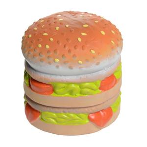 AniOne kutyajáték latex hamburger 9cm