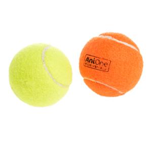 AniOne kutyajáték sípoló teniszlabda 2 db 6cm