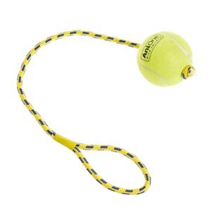 AniOne kutyajáték zsinóros teniszlabda 8cm
