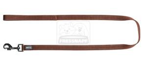 AniOne rövidpóráz Classic nejlon barna M/1m/20cm