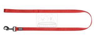 AniOne rövidpóráz Classic nejlon piros M/1m/20cm