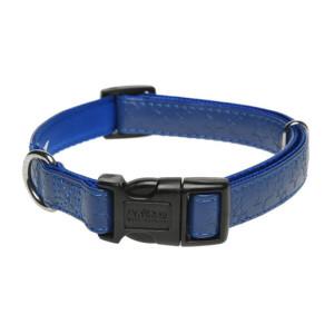 AniOne nyakörv Stars műbőr kék XS/22-35cm
