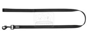 AniOne rövidpóráz Classic nejlon fekete M/1m/20cm