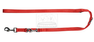 AniOne vezetőpóráz Classic nejlon piros M/2m/20cm