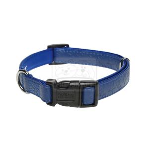 AniOne nyakörv Stars műbőr kék M/35-53cm