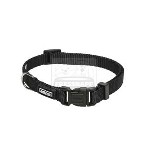 AniOne nyakörv Classic nejlon fekete XS/22-35cm