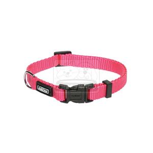 AniOne nyakörv Classic nejlon pink XS/22-35cm