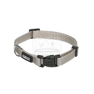 AniOne nyakörv Classic nejlon bézs/szürke XS/22-35cm