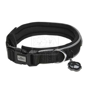 MORE FOR DOGS nyakörv Allround neoprén fekete XS/30-34cm