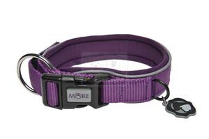 MORE FOR DOGS nyakörv Allround neoprén lila M/40-45cm