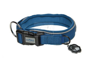 MORE FOR DOGS nyakörv Allround neoprén kék M/40-45cm