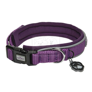 MORE FOR DOGS nyakörv Allround neoprén lila XS/30-34cm