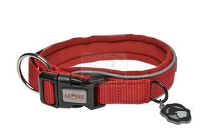 MORE FOR DOGS nyakörv Allround neoprén piros M/40-45cm