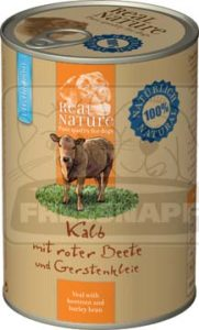 Real Nature kutyakonzerv light borjú 400g