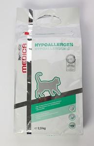 PB Med. táplálék allergia kezelésére szárazeledel cicáknak 2,5kg