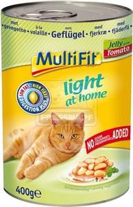 MultiFit cica konzerv light baromfihússal – ragu 400g