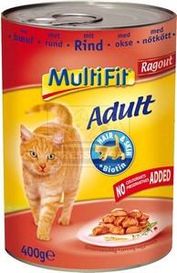 MultiFit cica konzerv marhahússal – ragu 400g