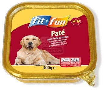 fit+fun kutya tálkás – pulykahús&csirkehús 300g
