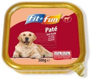 fit+fun kutya tálkás - borjú 300g