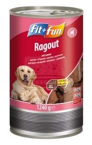 fit+fun kutyakonzerv – báránnyal 1240g