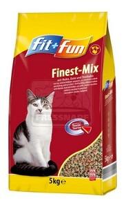 fit+fun cica száraztáp hús 5kg