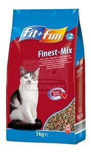 fit+fun cica száraztáp hal 5kg