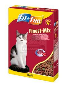 fit+fun cica száraztáp hús 1kg