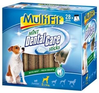 MultiFit Mint DentalCare fogtisztító rudak S 28db-os 440g