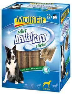 MultiFit Mint DentalCare fogtisztító rudak L 28db-os 1080 g