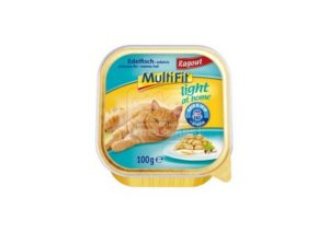 MultiFit light at home tálkás cicaeledel – nemes hal ragu – 100g