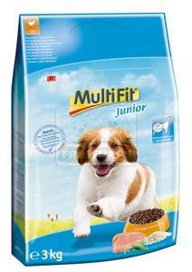 MultiFit Junior száraz kutyaeledel 3kg