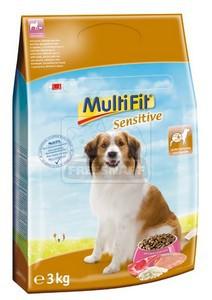 MultiFit Sensitive száraz kutyaeledel 3kg